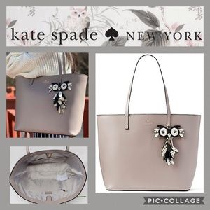Kate Spade ♠️ Owl Star Bright Little Len Tote
